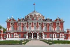 Petrovsky travelling palace Stock Photos