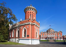 Petrovsky Travelling Palace in Moscow Stock Photography