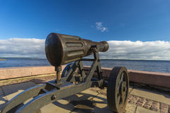 Petrozavodsk cannon Royalty Free Stock Photography