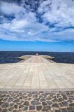 Petrozavodsk pier Royalty Free Stock Images