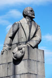 PETROZAVODSK, RUSSIA � MAY 1: Lenin monument of the famous Sovie Royalty Free Stock Images