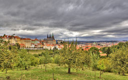 Petrshinskie gardens. Prague. Czech Republic. Stock Images