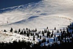 Petru peak. From Sureanu mountain Stock Photography