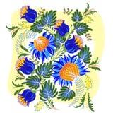 Petrykivsky painting Stock Image