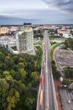 Petrzalka,布拉索夫,斯洛伐克 免版税库存图片