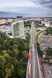 Petrzalka, Bratislava, Slowakije royalty-vrije stock afbeeldingen