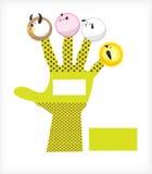 pets выставка марионетки Иллюстрация штока