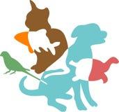 Pets royalty free illustration
