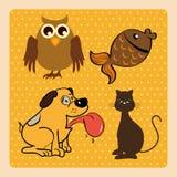 pets απεικόνιση αποθεμάτων