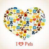 Pets care concept Stock Photography