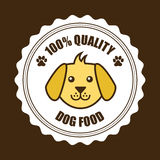 Pets design. Over  brown background vector illustration Stock Photography