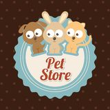 Pets design Royalty Free Stock Photo