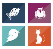 Pets design Royalty Free Stock Photography
