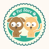 Pets design. Over white background vector illustration vector illustration