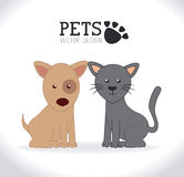 Pets design Royalty Free Stock Image