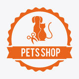 Pets design Stock Images
