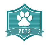 Pets design Royalty Free Stock Images