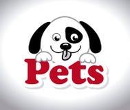Pets design,vector illustration. Royalty Free Stock Photo