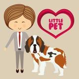Pets love design Stock Image