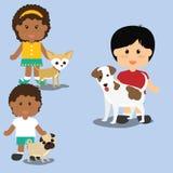 Pets love design Stock Photo