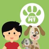 Pets love design Stock Photography