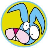 Pets o coelho do ícone ilustração royalty free