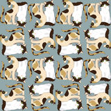 Pets pattern. Pattern with cute cat. Pattern for children Royalty Free Stock Images