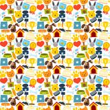 Pets seamless pattern Stock Images