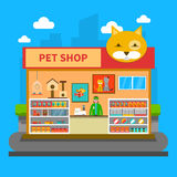 Pets Shop Concept Royalty Free Stock Photo