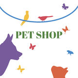 Pets Vector Logo Template Stock Image