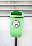 Pets waste basket Royalty Free Stock Images