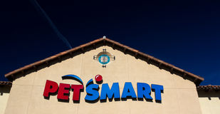PetSmart Store Exterior View Royalty Free Stock Photography