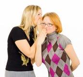 Pettegolezzo delle ragazze Fotografie Stock