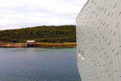 Petter Dass-Museum in Alstahaug, Norwegen Lizenzfreie Stockfotos