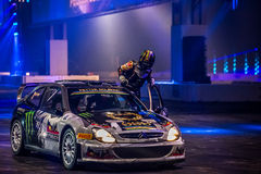 Petter Solberg à l'International 2016 d'Autosport Photographie stock libre de droits