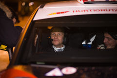 Petter Solberg as Codriver Stock Photo