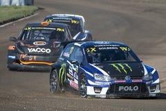 Petter Solberg Barcelona FIA świat Rallycross Obrazy Stock