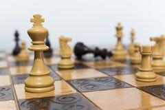 Petti e scacchiera Immagine Stock