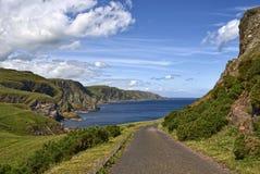 Pettico Wick, St Abbs Head, Berwickshire, Scotland Stock Images