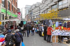 Petticoat lane market Stock Images