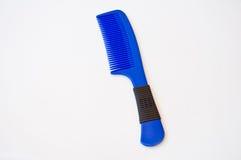 Pettine blu Fotografia Stock