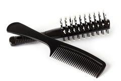 Pettine dei capelli Immagini Stock