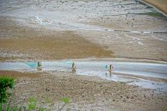 Pettine della spiaggia - paesaggio di Xiapu Fotografie Stock Libere da Diritti