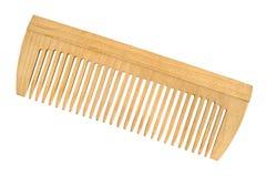 Pettine di legno Fotografia Stock