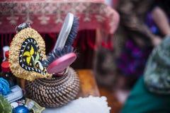 Pettini in vaso Fotografia Stock Libera da Diritti