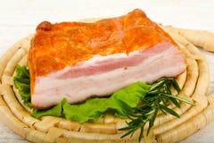 Petto affumicato della carne di maiale immagine stock libera da diritti