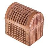 Petto di legno isolato Fotografie Stock Libere da Diritti