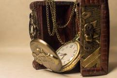 Petto ed orologio Fotografia Stock Libera da Diritti