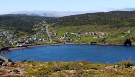 Petty Harbour village Stock Image