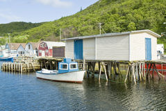 Petty Harbour Fishing Village Royalty Free Stock Image